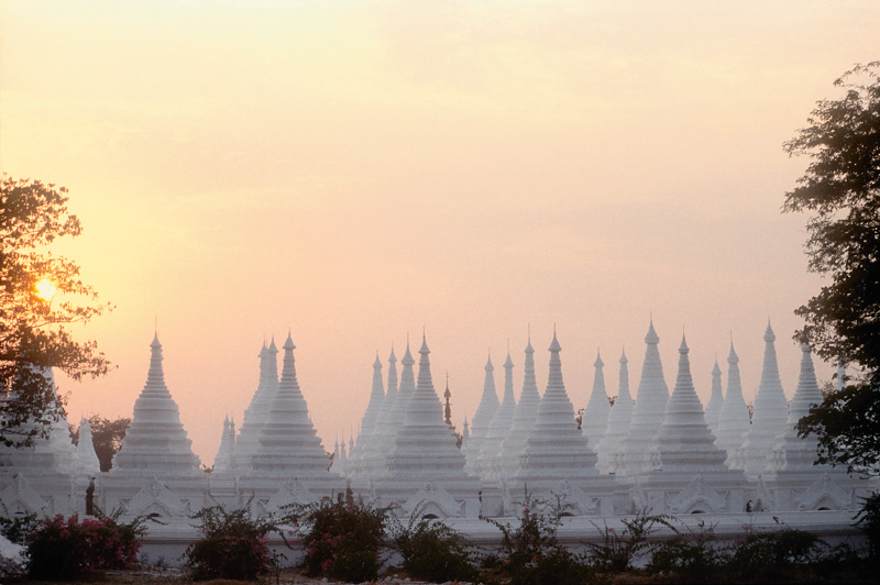 Worlds Largest Book, Mandalay, Burma